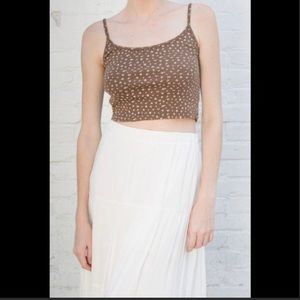 Brandy brown tank